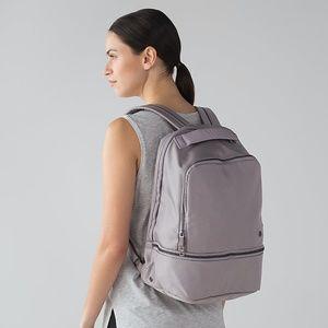 lululemon Go Lightly Backpack in Dark Chrome